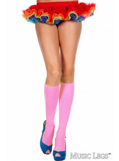 ML5309 - Knee hi & over the knee (Hot Pink)
