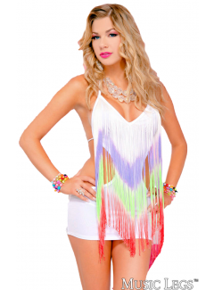 ML56032 - Fringe Dress