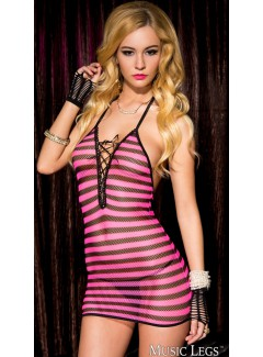 ML56096 - Striped Mini Dress