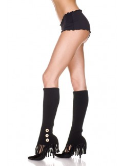 ML5647 - Knee Hi & Over The Knee (Black)