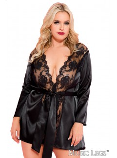 ML60078Q - Robe (BLACK)