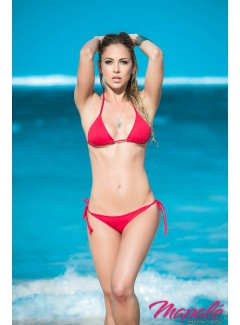 AM6728 - Two Piece Swimsuit (RED)