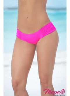 AM6851 - Waistband Ruched Panty (HOT PINK)