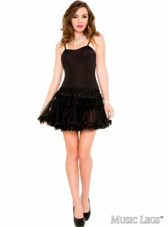 ML70449 - Petticoat Dress (BLACK)