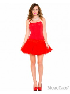 ML70449 - Petticoat Dress (RED)