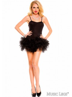 ML70560 - TUTU DRESS (BLACK)
