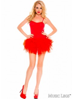 ML70560 - TUTU DRESS (RED)