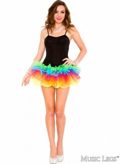 ML70582 - TUTU DRESS (BLACK)