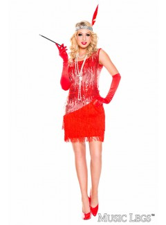 ML70595R - FEARLESS RED FLAPPER