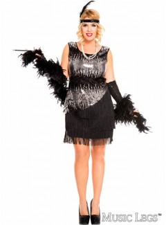 ML70595QB - FEARLESS BLACK FLAPPER
