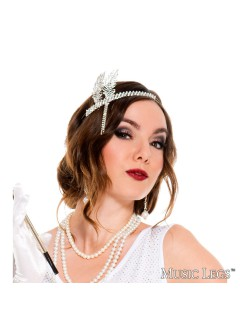 ML70613 - SILVER FLAPPER HEADPIECE