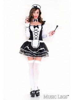 ML70645 - PRETTY AND PROPER FRENCH MAID