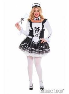 ML70645Q - PRETTY AND PROPER FRENCH MAID