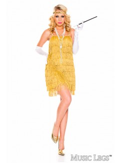 ML70841 - LUSTRUOUS FLAPPER (GOLD)