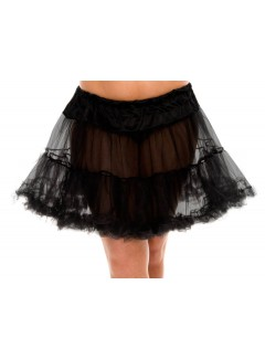 ML711Q - TULLE PETTICOAT (BLACK)