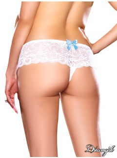 DG7177X - Open Boyshort (WHITE)