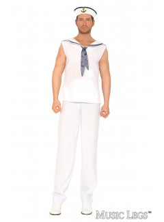 ML76637 - NAVY SAILOR (WHITE)
