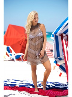 MA7869 - Cover Up & Beach Dress (TAUPE)