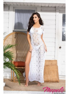 MA7891 - Long Cover Up (WHITE)