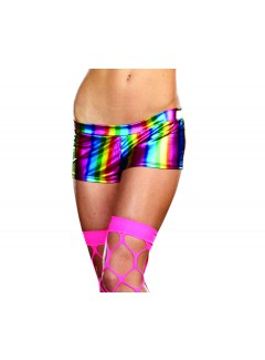DG8905 - RAINBOW ROXIE SHORT