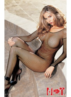 SH90005 - Fishnet Bodystocking (BLACK)