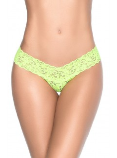 MA94 - Lace Thong (HOT GREEN)
