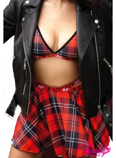 FAAF803 - Plaid Skirt