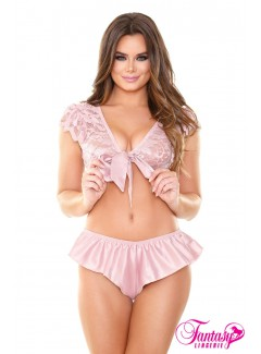 FAB415 - 2PC Satin Set