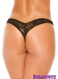 BS201L - THONG (BLACK)