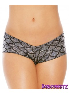 BS205M - Mermaid Shorts (SILVER)
