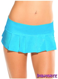 BS402 - Pleated Skirt (TURQUOISE)