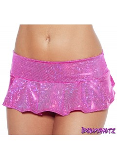 BS402S - Pleated Skirt (HOT PINK)