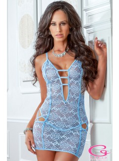 GWD1802 - Lace Chemise (BLUEJAY)