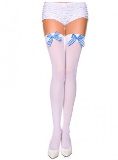 ML47422 - Thigh Hi (White/Blue)