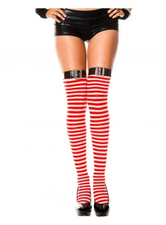 ML4776 - Thigh Hi (Red/White)