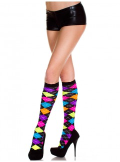 ML5308 - Knee hi & over the knee (Rainbow)