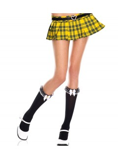 ML5578 - Knee Hi & Over The Knee (Black)