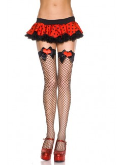ML4988 - Thigh Hi (Black/Red)