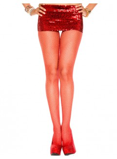 ML90014 - Pantyhose (RED/SILVER)
