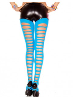 ML35229 - Footless Tights (NEON BLUE)