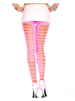 ML35229 - Footless Tights (NEON PINK)