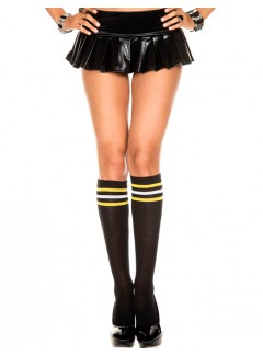 ML5734 - Knee Hi & Over The Knee (Black)
