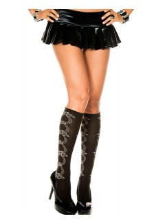 ML5705 - Knee Hi and Over The Knee (Black)