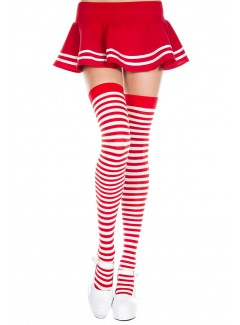 ML4741 - Thigh Hi (RED/WHITE)