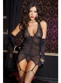 ML52065 - Bustier & Stocking Set