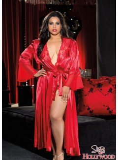 SHX20559 - LONG ROBE (RED)