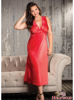 SHX26102 - Long gown (RED)