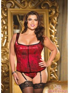 SHX26928 - CORSET (RED)