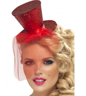 SM21298 - Mini Top Hat (RED)