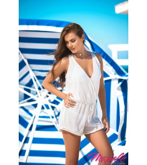 Cover Up & Beach Romper (IVORY)